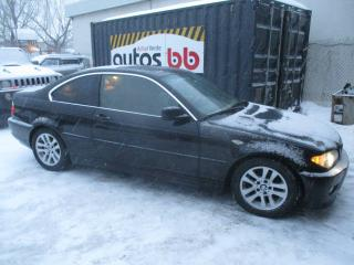 Used 2005 BMW 3 Series Coupé 2 portes 325Ci for sale in Laval, QC