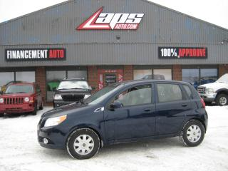 Used 2010 Chevrolet Aveo5 ***PNEUS D'HIVER*** for sale in Ste-Catherine, QC