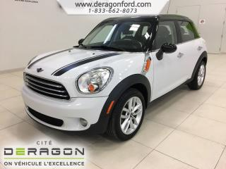Used 2013 MINI Cooper Countryman Toit Pano + Cuir for sale in Cowansville, QC