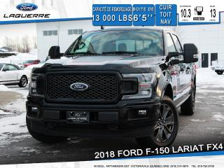 Used 2018 Ford F-150 Lariat Fx4 Cuir for sale in Victoriaville, QC