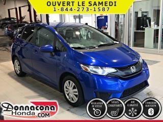 Used 2015 Honda Fit LX ***PNEUS HIVER MICHELIN***CAMÉRA DE R for sale in Donnacona, QC