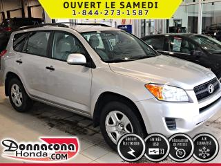 Used 2012 Toyota RAV4 ***4 CYL***4RM***PNEUS HIVER***AIR CLIMA for sale in Donnacona, QC