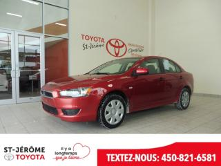 Used 2009 Mitsubishi Lancer De A/c Gr for sale in Mirabel, QC