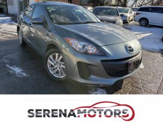 Used 2012 Mazda MAZDA3 GS | SUNROOF | LEATHER | NAVI | BACK UP CAM | for sale in Mississauga, ON