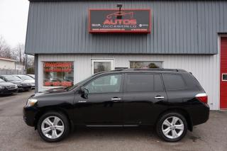 Used 2010 Toyota Highlander V6 Ltd Awd T.équipé for sale in Lévis, QC