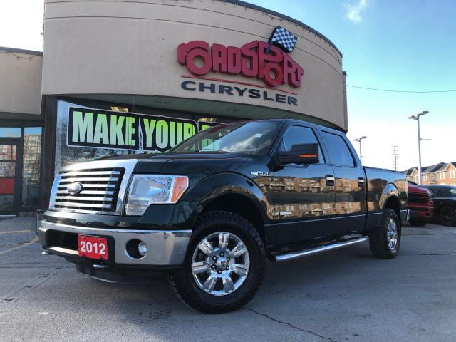 2012 Ford F-150 SUPERCREW+4X4+XLT+R-CAM+ RUNNING BOARDS TONN COVER