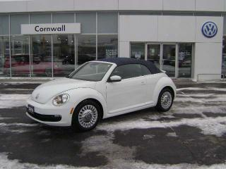 Used 2016 Volkswagen Beetle Convertible Denim Edition 2dr FWD Convertible for sale in Cornwall, ON