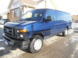 Used 2010 Ford E350 XL 15Passenger Extended Club Wagon 177,000KMs for sale in Etobicoke, ON
