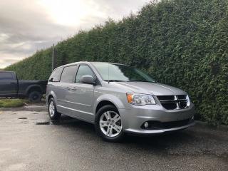 Used 2017 Dodge Grand Caravan Crew Plus for sale in Surrey, BC