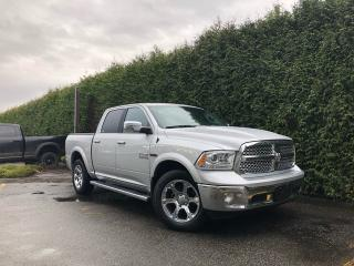 Used 2017 RAM 1500 LARAMIE 4X4 + NAV + SUNROOF + SPRAY-IN BEDLINER + NO EXTRA DEALER FEES for sale in Surrey, BC