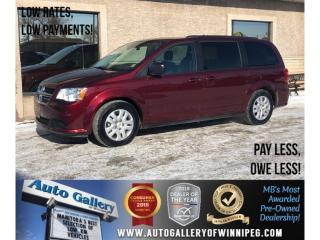 Used 2017 Dodge Grand Caravan SXT *DVD/Rear Air/7 Pass/Backup Cam for sale in Winnipeg, MB