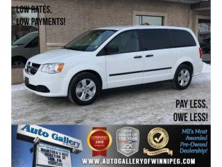 Used 2017 Dodge Grand Caravan Canada Value Package *7Pass/Rear Air for sale in Winnipeg, MB