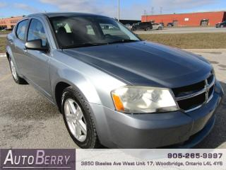 Used 2009 Dodge Avenger SXT - 2.4L - FWD for sale in Woodbridge, ON