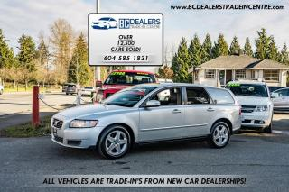Used 2008 Volvo V50 2.4 Wagon, Local, No Accidents, Amazing Condition! for sale in Surrey, BC