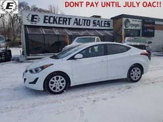 Used 2016 Hyundai Elantra SE  LIKE NEW!! for sale in Barrie, ON