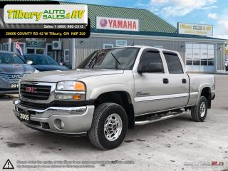 Used 2005 GMC Sierra 2500 SLT. Leather, heated seats, running boards. for sale in Tilbury, ON