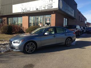 Used 2015 Infiniti Q50 Limited/Driver Assist Pkg for sale in North York, ON