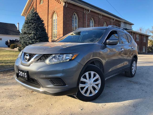 2015 Nissan Rogue S - EXTRA CLEAN - CERTIFIED