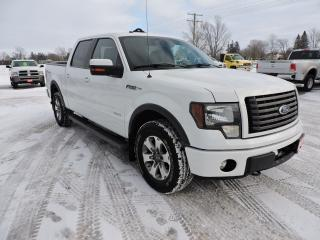 Used 2011 Ford F-150 FX4. Leather. Sunroof. 4X4. Loaded for sale in Gorrie, ON