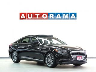 Used 2015 Hyundai Genesis NAVIGATION PAN SUNROOF LEATHER BACK UP CAM AWD for sale in Toronto, ON