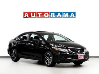 Used 2015 Honda Civic TOURING NAVIGATION LEATHER SUNROOF BACK UP CAM for sale in Toronto, ON