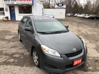 Used 2010 Toyota Matrix for sale in Beeton, ON