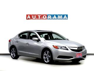 Used 2015 Acura ILX PREMIUM PKG LEATHER SUNROOF BACK UP CAM for sale in Toronto, ON