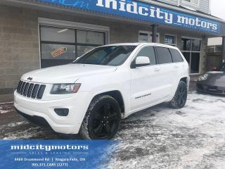 Used 2014 Jeep Grand Cherokee LAREDO 4X4 Altitude Sport/ Sunroof/ LOADED! for sale in Niagara Falls, ON