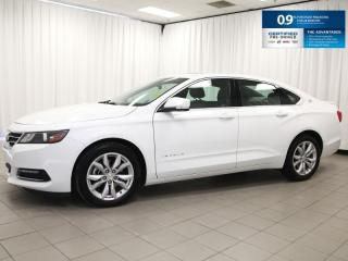 Used 2018 Chevrolet Impala LT - V6, Leather, Sunroof, Heated Seats and much much more! for sale in Dartmouth, NS