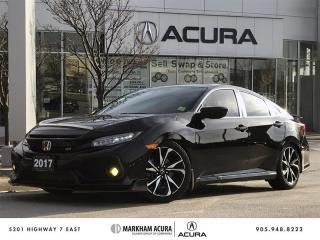 Used 2017 Honda Civic Sedan SI 6MT Navi, Carbon Lip, Skunk 2 Springs, Tints for sale in Markham, ON