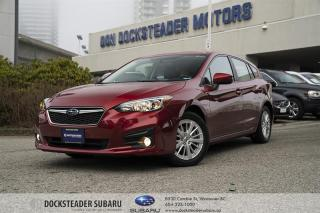 Used 2018 Subaru Impreza 5Dr Touring CVT HEATED SEATS   REAR CAMERA   APPLE CAR PLAY & ANDROID *AUTO* for sale in Vancouver, BC