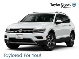 New 2019 Volkswagen Tiguan Highline 2.0T 8sp at w/Tip 4M for sale in Orleans, ON