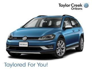 New 2019 Volkswagen Golf Alltrack 1.8T Execline DSG 6sp at w/Tip 4MOTION for sale in Orleans, ON