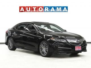 Used 2015 Acura TLX SH-AWD TECH PKG NAVI BACK UP CAM LEATHER SUNROOF for sale in Toronto, ON