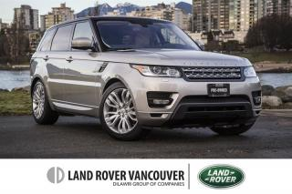 Used 2016 Land Rover Range Rover Sport V6 HSE *Certified Pre-Owned Warranty! for sale in Vancouver, BC