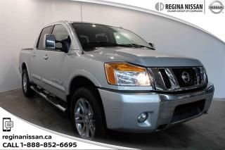 Used 2012 Nissan Titan Crew Cab SL 4X4 SWB ONLY 68000 KM! - LEATHER - SUNROOF for sale in Regina, SK