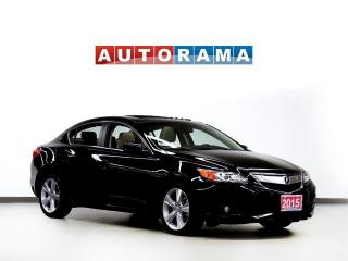 Used 2015 Acura ILX TECH PKG NAVIGATION BACK UP CAM LEATHER SUNROOF for sale in Toronto, ON