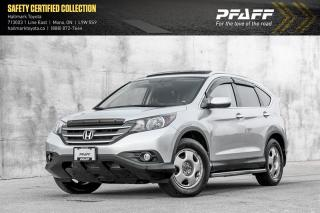 Used 2012 Honda CR-V Touring 4WD TOP OF THE LINE TOURING MODEL! for sale in Orangeville, ON