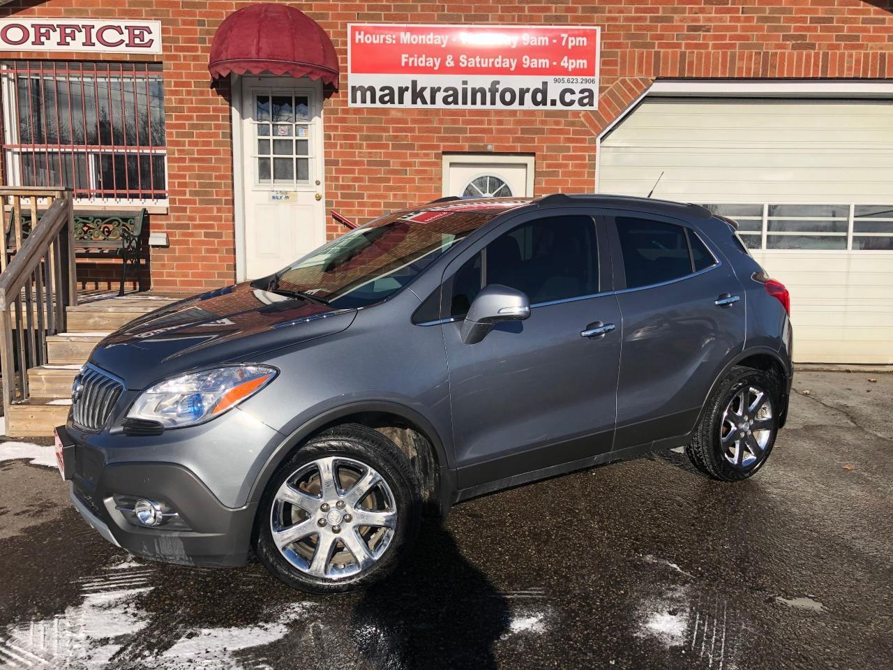 2014 Buick Encore Premium AWD Navigation Sunroof