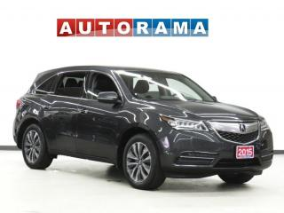 Used 2015 Acura MDX NAVIGATION LEATHER SUNROOF BACK UP CAM 7 PASS AWD for sale in Toronto, ON