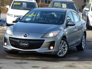 Used 2012 Mazda MAZDA3 GT,*LEATHER*,PWR-HEATD SEATS,ALLOY WHEELS, LOADED, for sale in Mississauga, ON