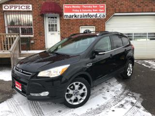 Used 2013 Ford Escape SEL AWD Ecoboost Pano Sunroof Navigation for sale in Bowmanville, ON