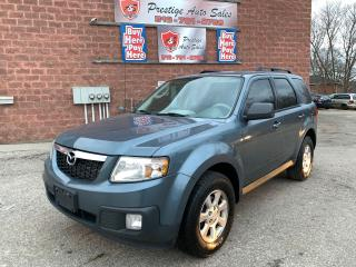 Used 2011 Mazda Tribute GX/2.5L/NO ACCIDENT/CERTIFIED/WARRANTY INCLUDED for sale in Cambridge, ON