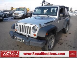 Used 2012 Jeep Wrangler Sport 2D Utility 4WD 3.6L for sale in Calgary, AB