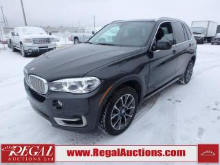Used 2018 BMW X5 XDRIVE35I 4D Utility 4WD for sale in Calgary, AB