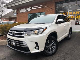 Used 2017 Toyota Highlander XLE Sunroof Navi Lane Departure Rear Cam Certi* for sale in Concord, ON