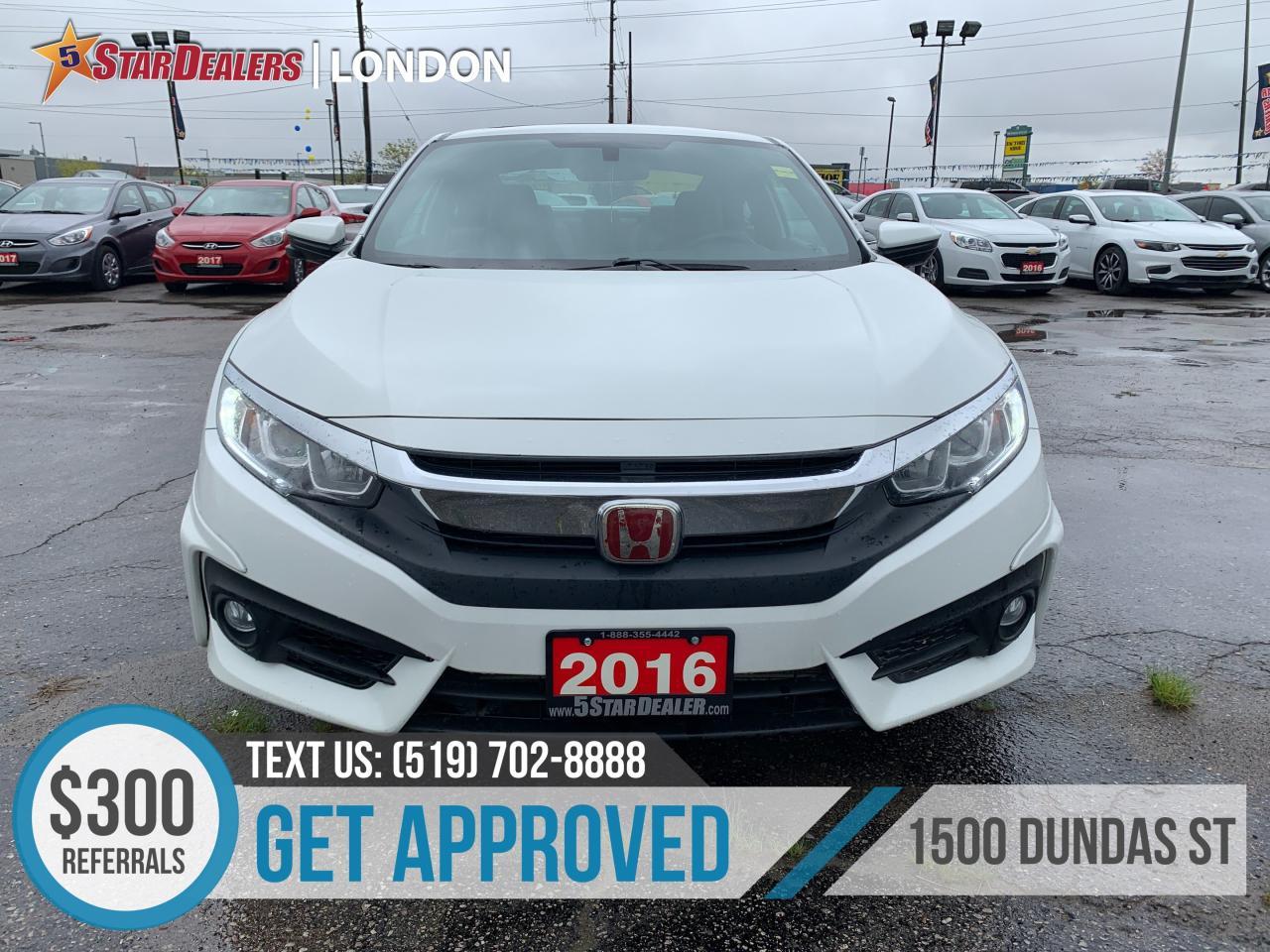 Honda London Ontario >> Used 2016 Honda Civic For Sale In London Ontario Carpages Ca