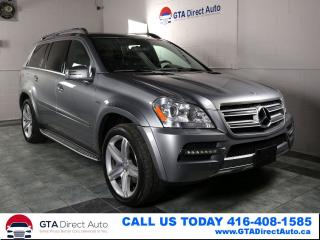 Used 2012 Mercedes-Benz GL-Class GL 350 BlueTec AMG AWD Nav DVD 7Pass Cam Certified for sale in Toronto, ON