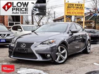 Used 2015 Lexus IS 350 Navi*Camera*BlindSpot*HtdSeats*FullOpti* for sale in Toronto, ON