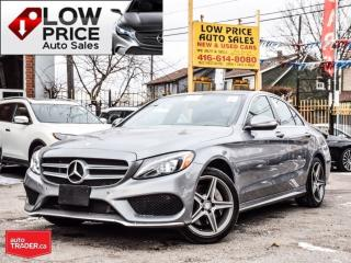 Used 2015 Mercedes-Benz C-Class AWD*AMGPkg*Navi*Camera*Xenon&MBWarranty* for sale in Toronto, ON